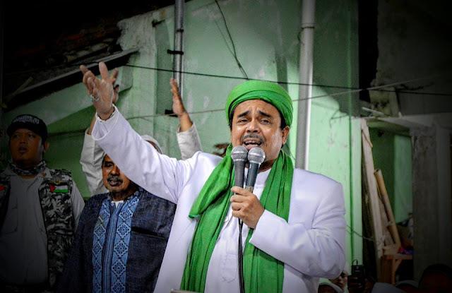 Habib Rizieq Ajak Umat Galang Dana untuk Menangkan Prabowo-Sandi