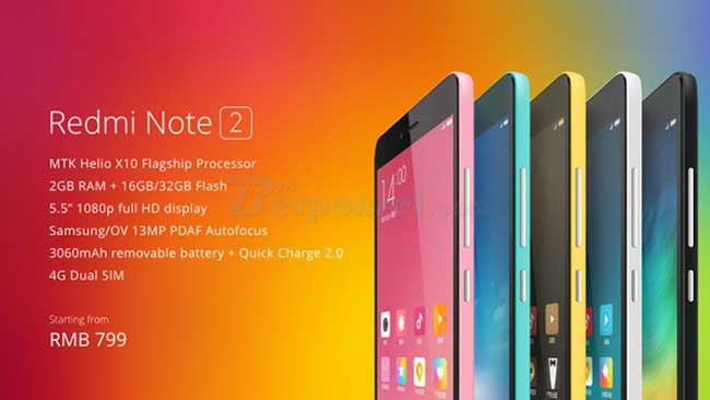 Cara Menghapus Iklan di Xiaomi Redmi Note 2 dengan Ganti ROM