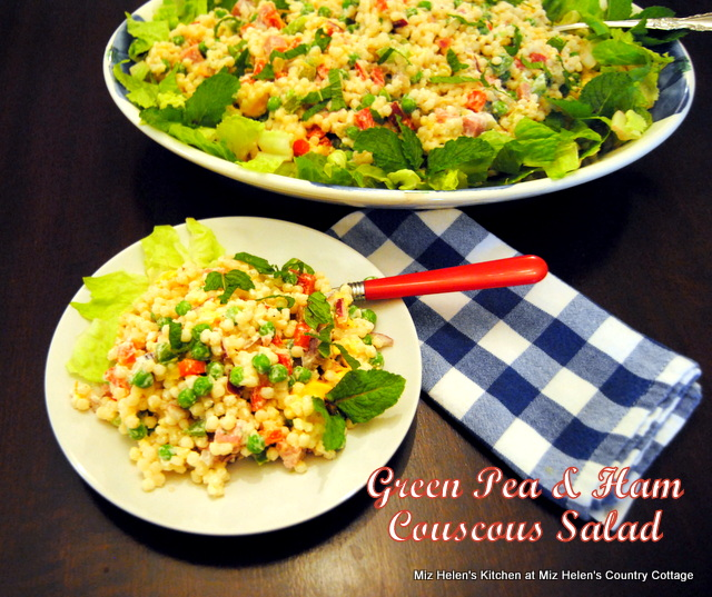 Green Pea and Ham Couscous
