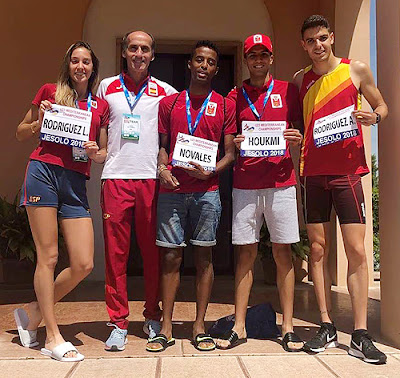 Atletismo España Juegos Mediterráneos Sub23