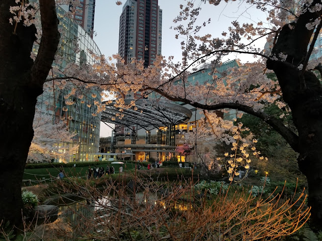 Mori Garden, Tulipanes, Cerezos en flor, Cherry, Blossoms, Sakura, Roppongi Hills, Hanami, Minato, Tokyo, Tokio, Japón, Japan, Viaje a Japón, Japan Travel, Elisa N, Blog de Viajes, Lifestyle, Travel, Torre Mori, Maman, Louise Bourgeois