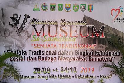 Senjata Tradisional Sumatera Dipamerkan di Tanah Melayu