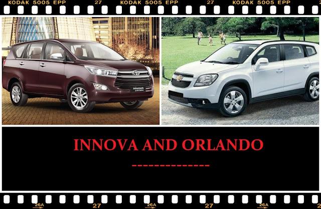 So sánh Toyota Innova và Chevrolet Orlando 1