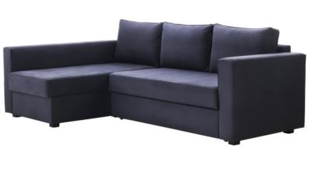 Arredo a modo mio manstad ikea divano letto angolare e for Divano con contenitore ikea