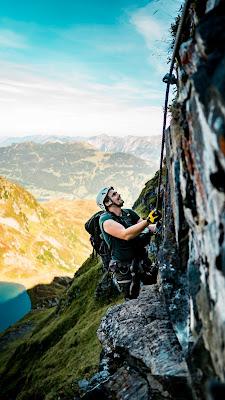 Seetalwanderung und Klettersteig Hochjoch  Silvretta Montafon 09
