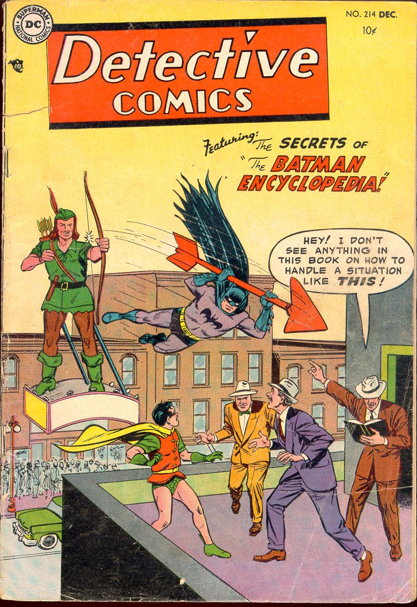 Read online Detective Comics (1937) comic -  Issue #214 - 1