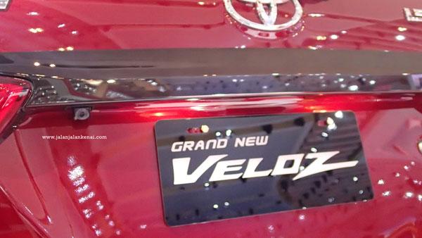 Kamera Parkir Grand New Veloz Silver Giias 2015 Si Stylish Yang Siap Berpetualang Lihat Kan Kecil Di Sudut Kiri Bisa Membantu Pengemudi Untuk Melihat Ke Belakang Nih Sebetulnya Ini Screen Audio Avanza
