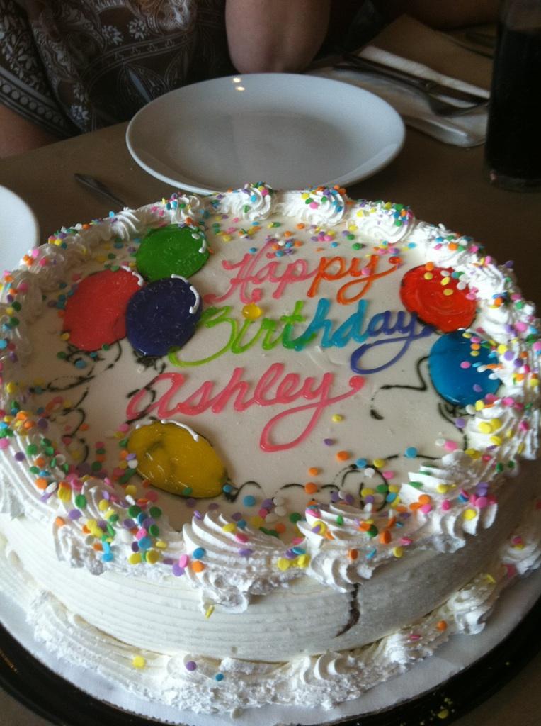 Lux Atkin Birthday Cake