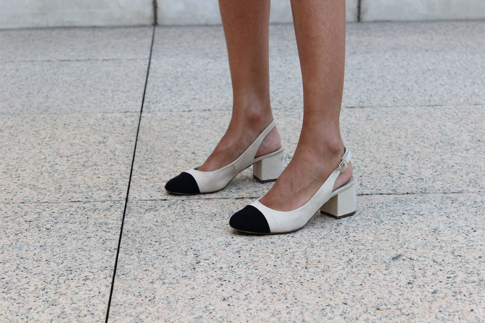 street style slingback chanel