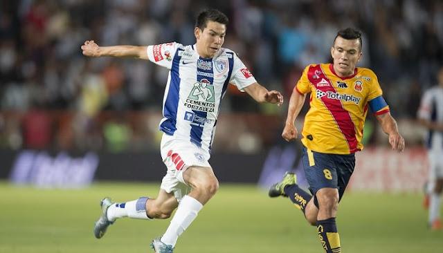 Ver partido Morelia vs Pachuca en vivo jornada 5