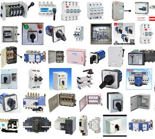 Jual 2 Phase 63 Amp Din Changeover Switch Termurah