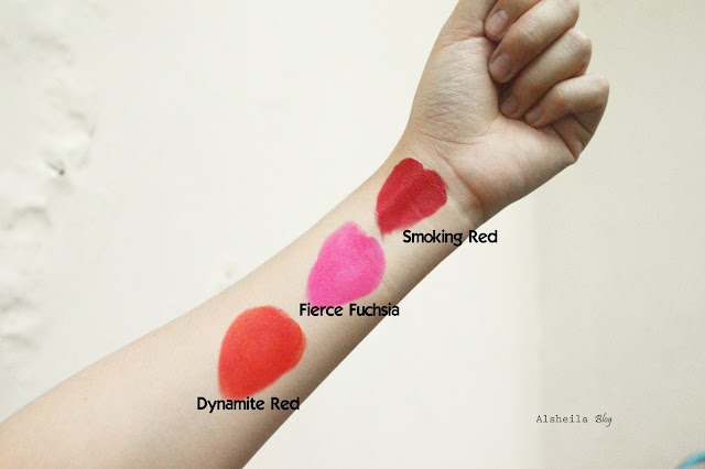 swatches Maybelline Loaded Bolds