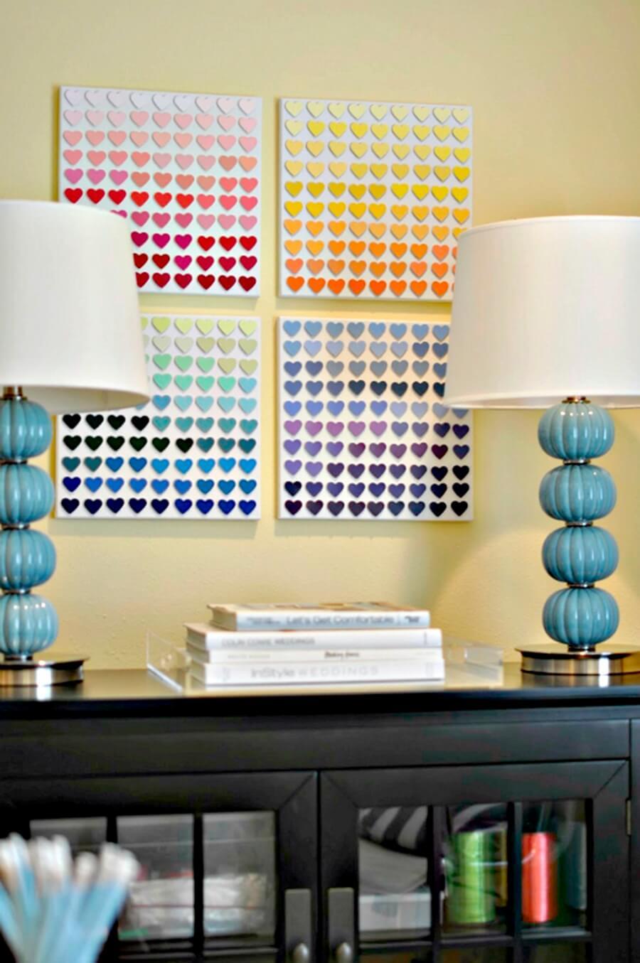 como decorar as paredes da sua casa gastando pouco