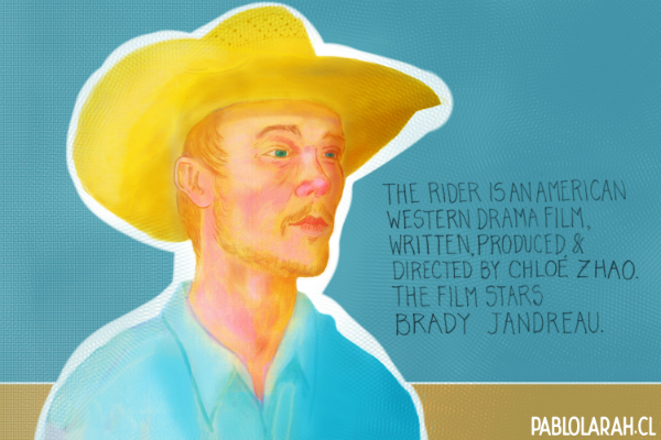 Illustrating Brady Jandreau as Brady Blackburn