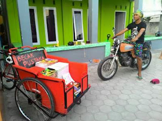 becak pustaka