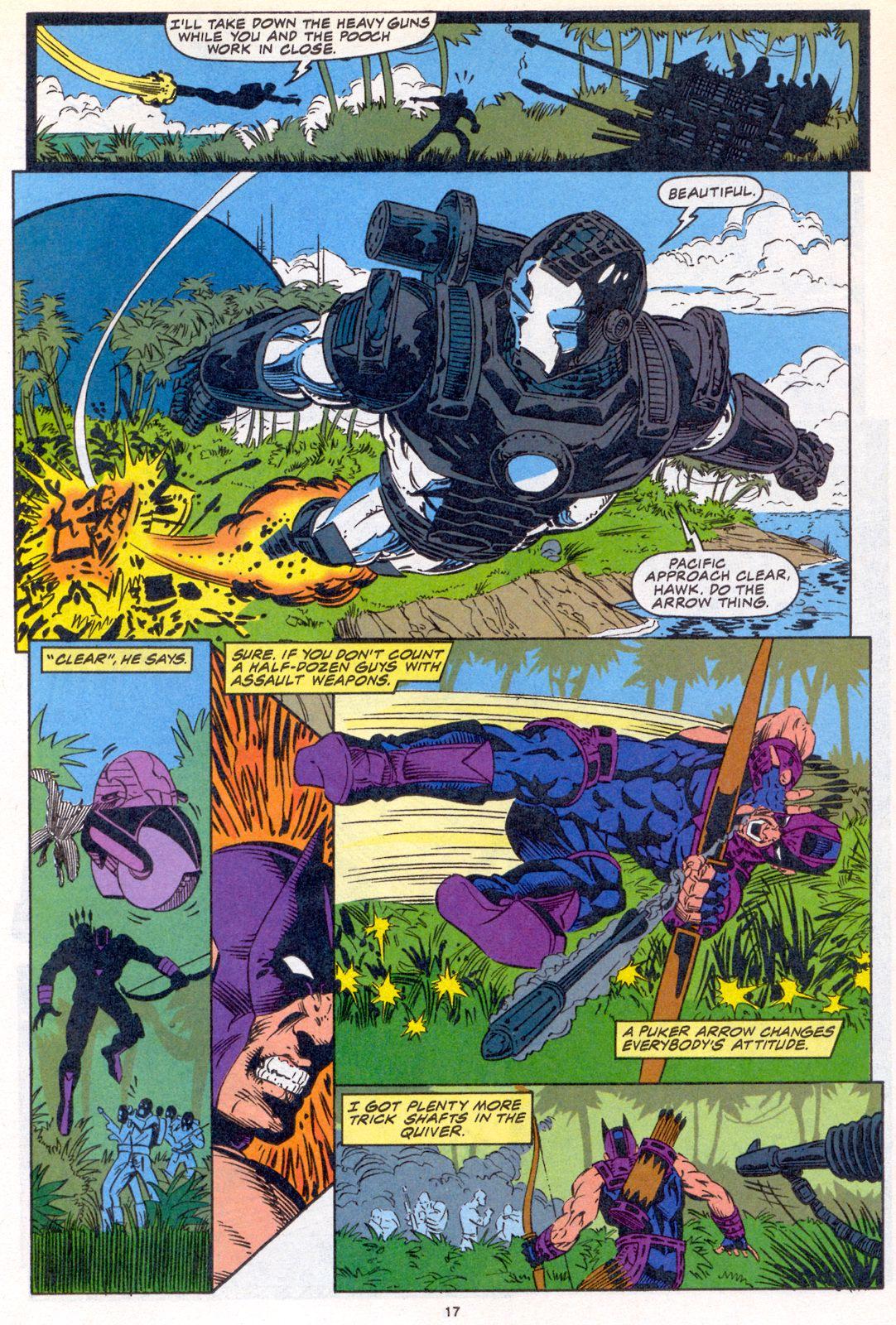 Hawkeye (1994) Issue #3 #3 - English 13