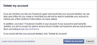 Cara Delete FB Acc