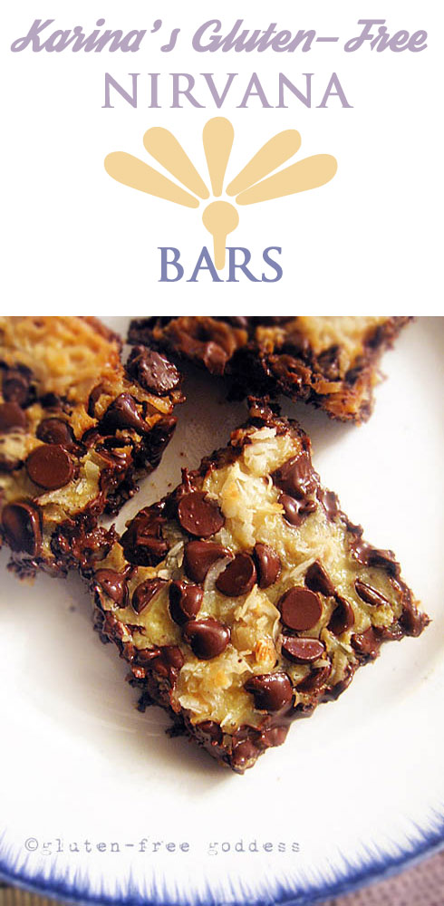This recipe is a family favorite- my chocolate-coconut cookie bar recipe. Simple to make. Sweet and gooey and bliss inducing. And most important? You can offer them at any gathering without a gluten-free apology.