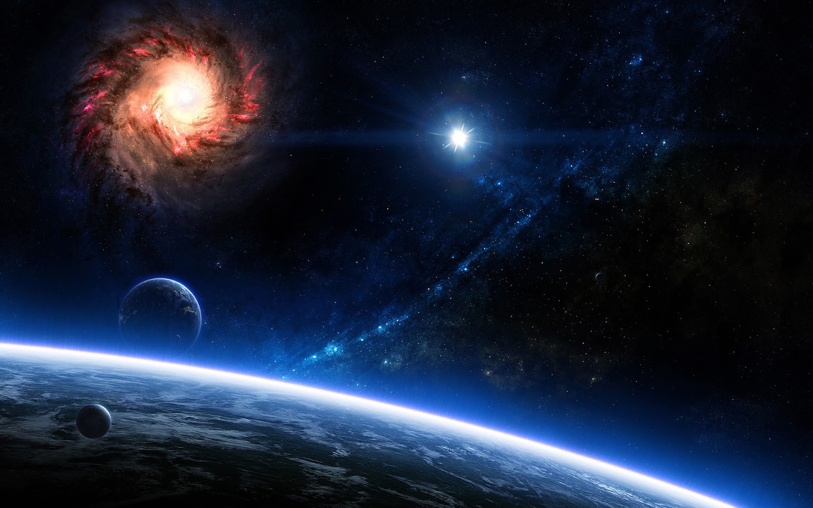 Space Wallpaper 1920 x 1200
