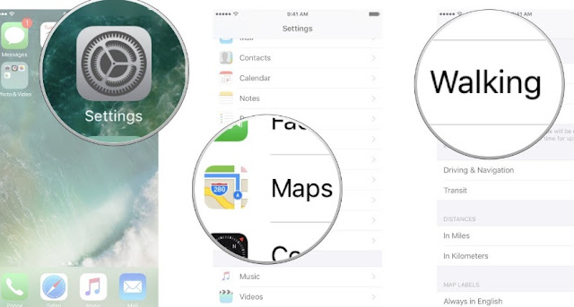 How You Can Configure Apple Maps Default to Walking Directions