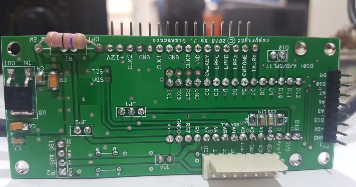 9M2TPT / KT2O / M0HIK: New project - Ubitx - Radi2cino