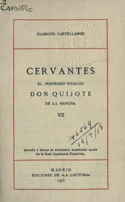 Quijote VII