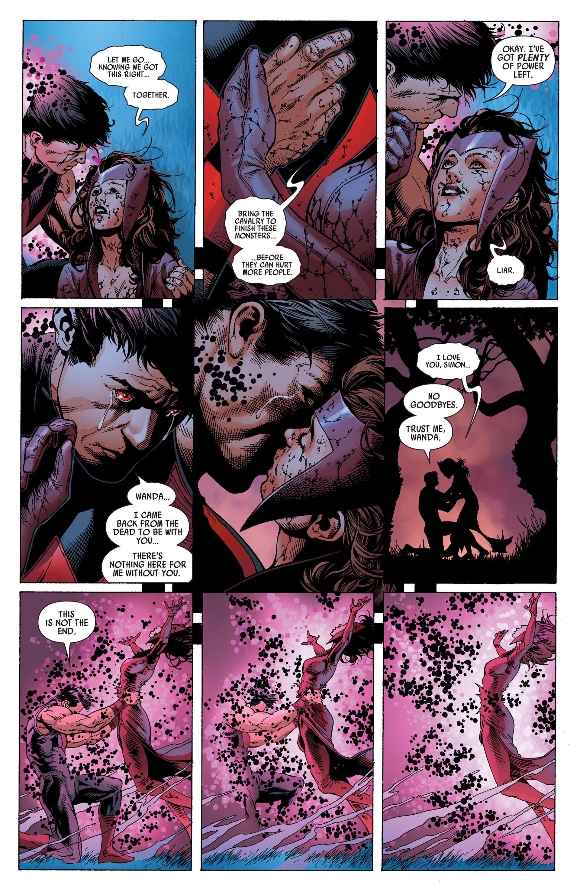 Read online Uncanny Avengers (2012) comic -  Issue #14 - 21