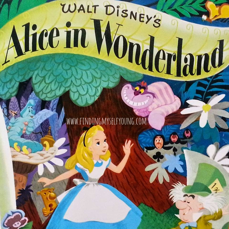 Alice in Wonderland little golden book 2010 cover image