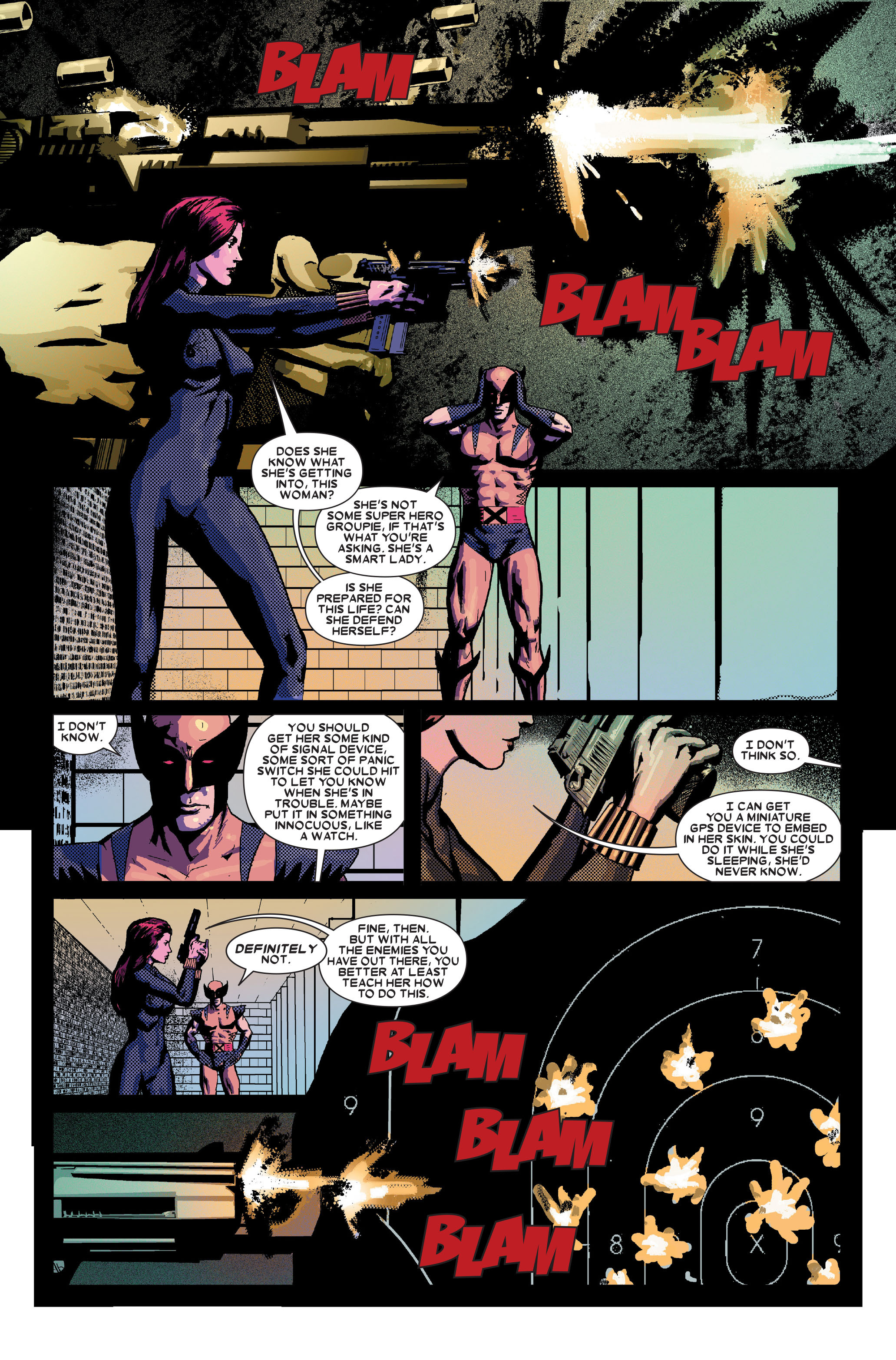 Read online Wolverine: Weapon X comic -  Issue #10 - 10
