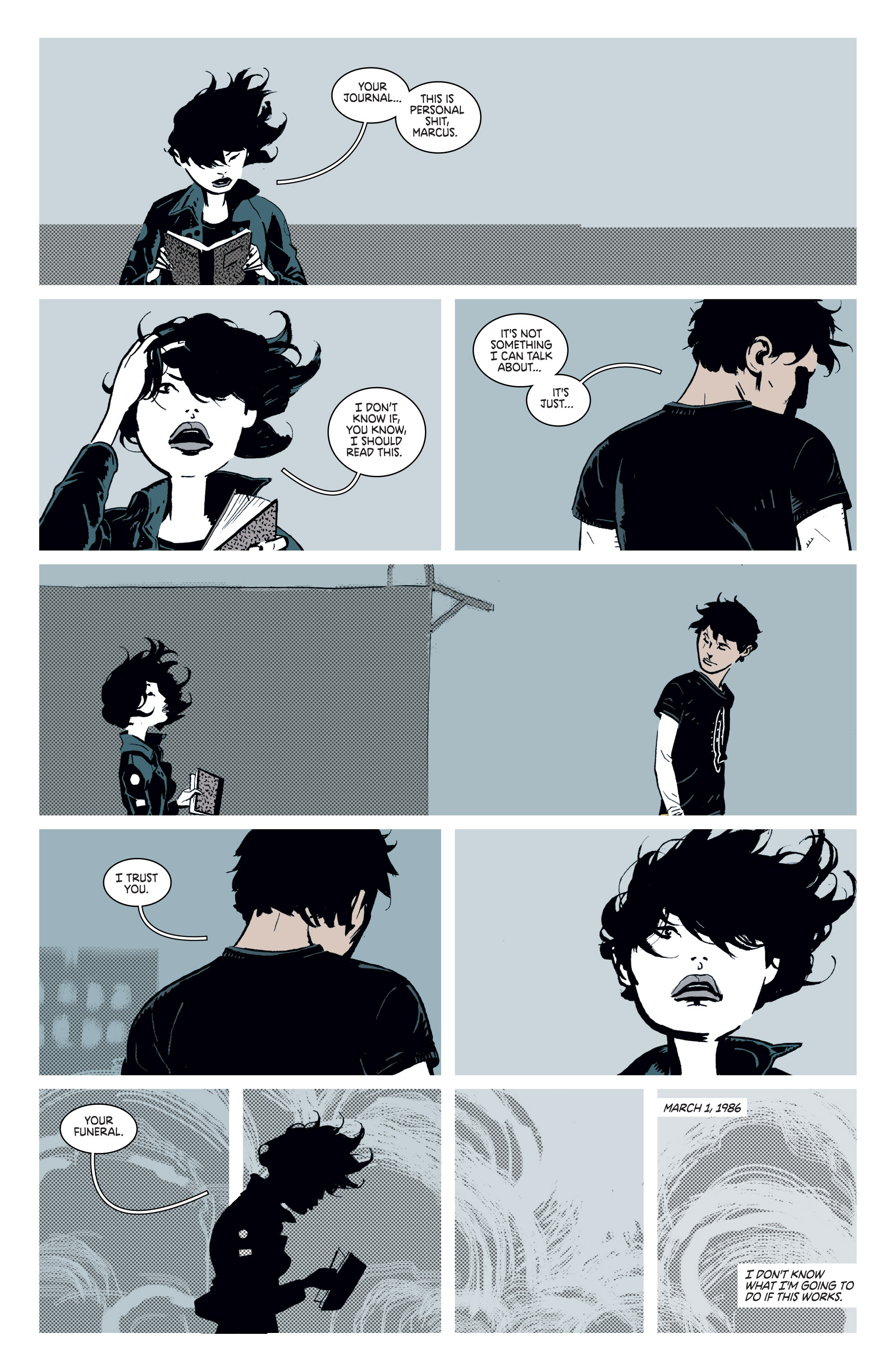 Read online Deadly Class comic -  Issue #8 - 5