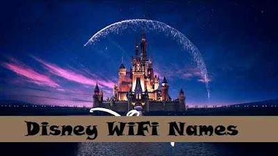 Disney WiFi Names - cool wifi names
