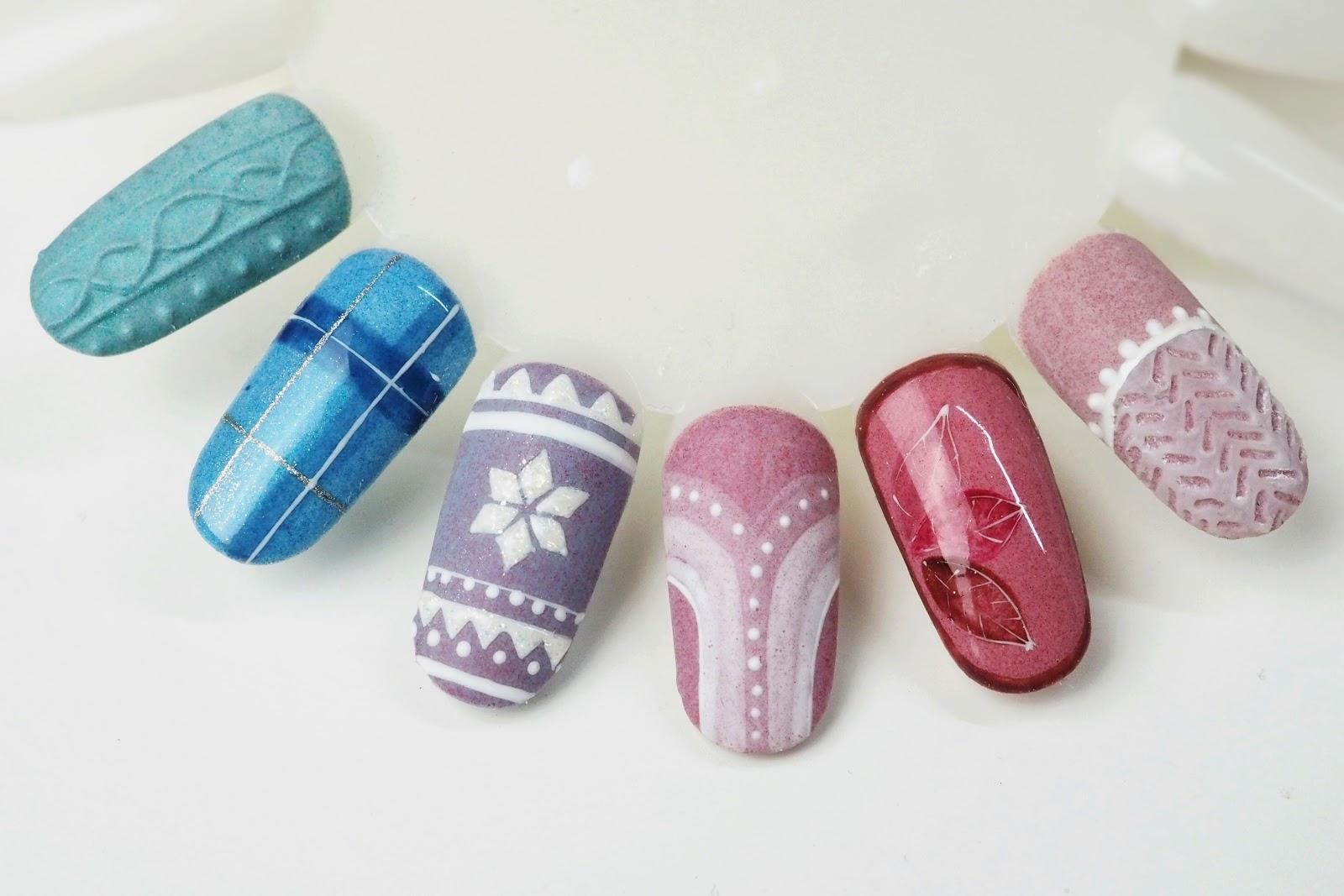 pomysły na jesienne paznokcie