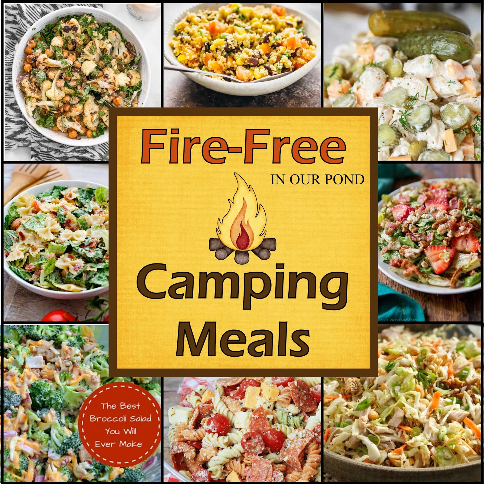 20 Make Ahead Camping Recipes For Easy Meal Planning: 24 Fire-Free Camping Meals