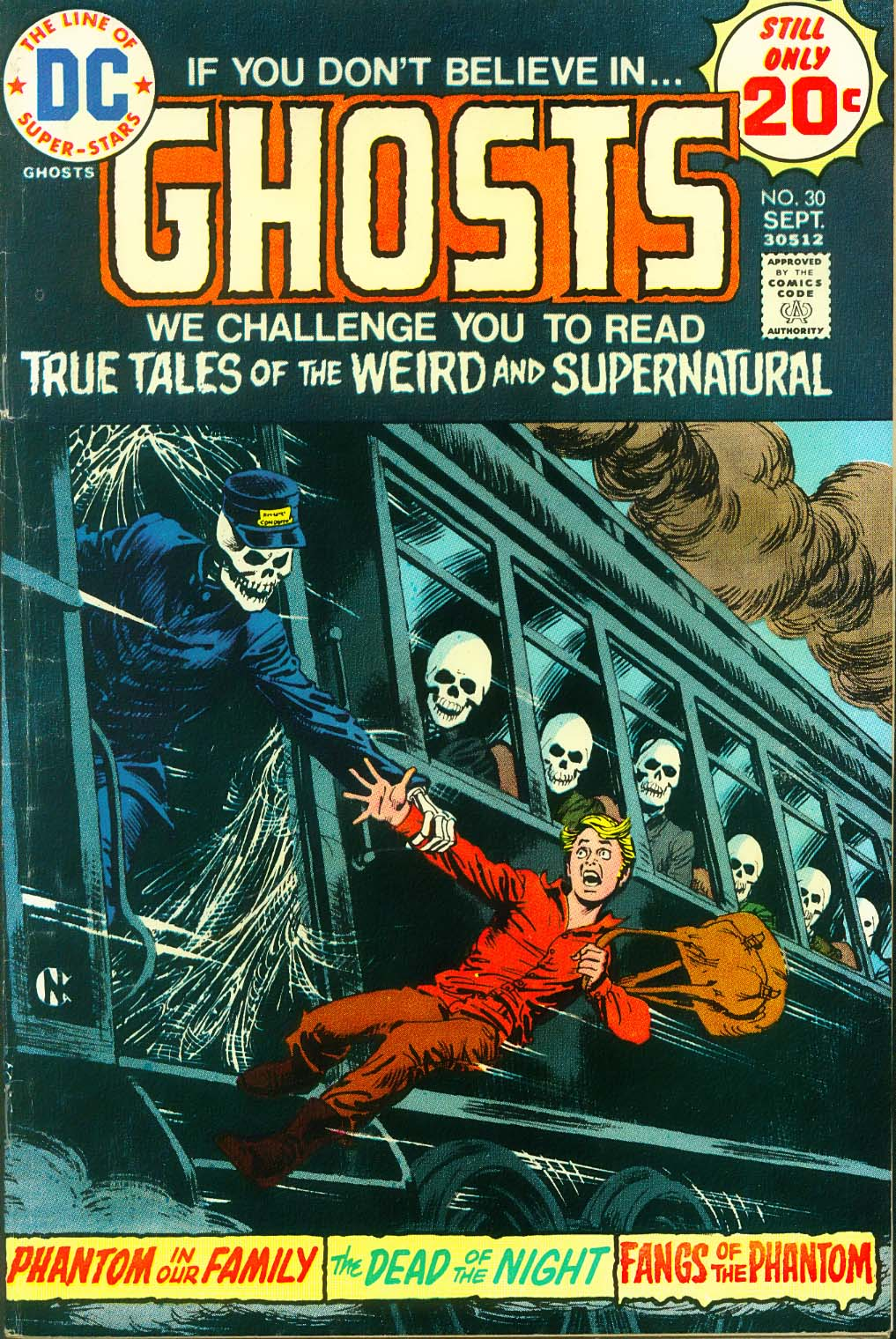 Read online Ghosts comic -  Issue #30 - 2