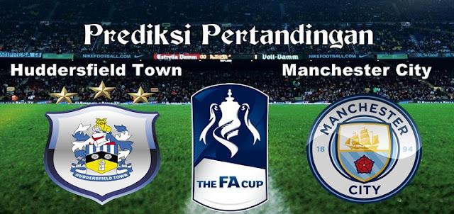 Prediksi Pertandingan Huddersfield Town vs Manchester City 18 Februari 2017