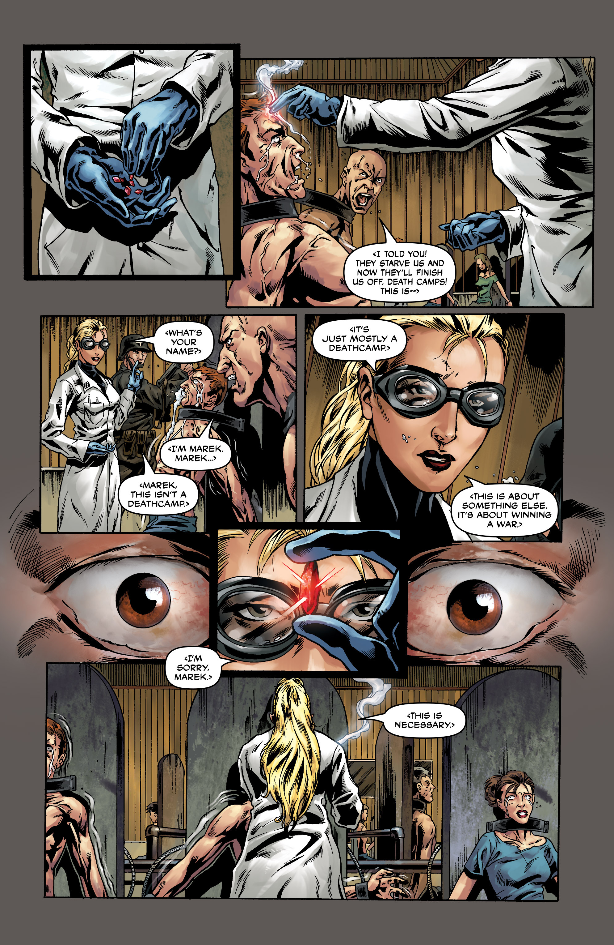 Read online Uber comic -  Issue #0 - 19