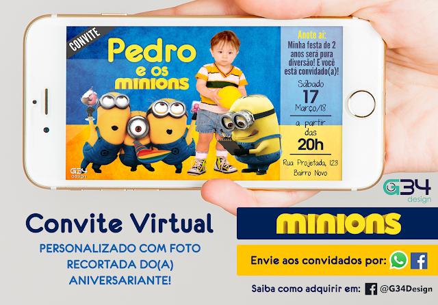 convite-de-aniversario-virtual-os-minios