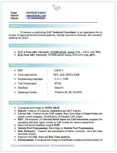 5 Sample Resume For It Graduate Download Now Resume Format Graduate Fresher Bestsellerbookdb