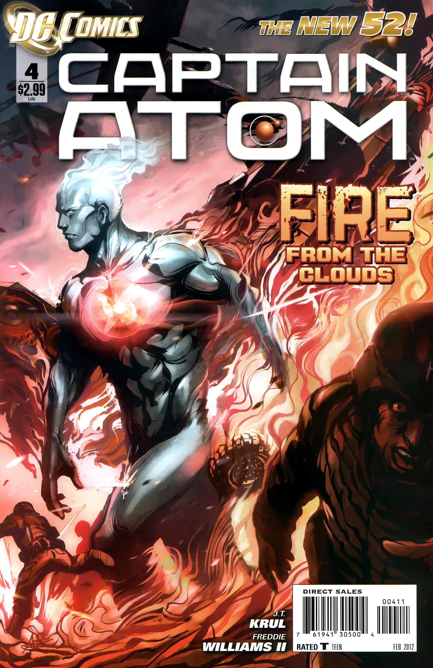 Captain Atom issue 04 - Page 1
