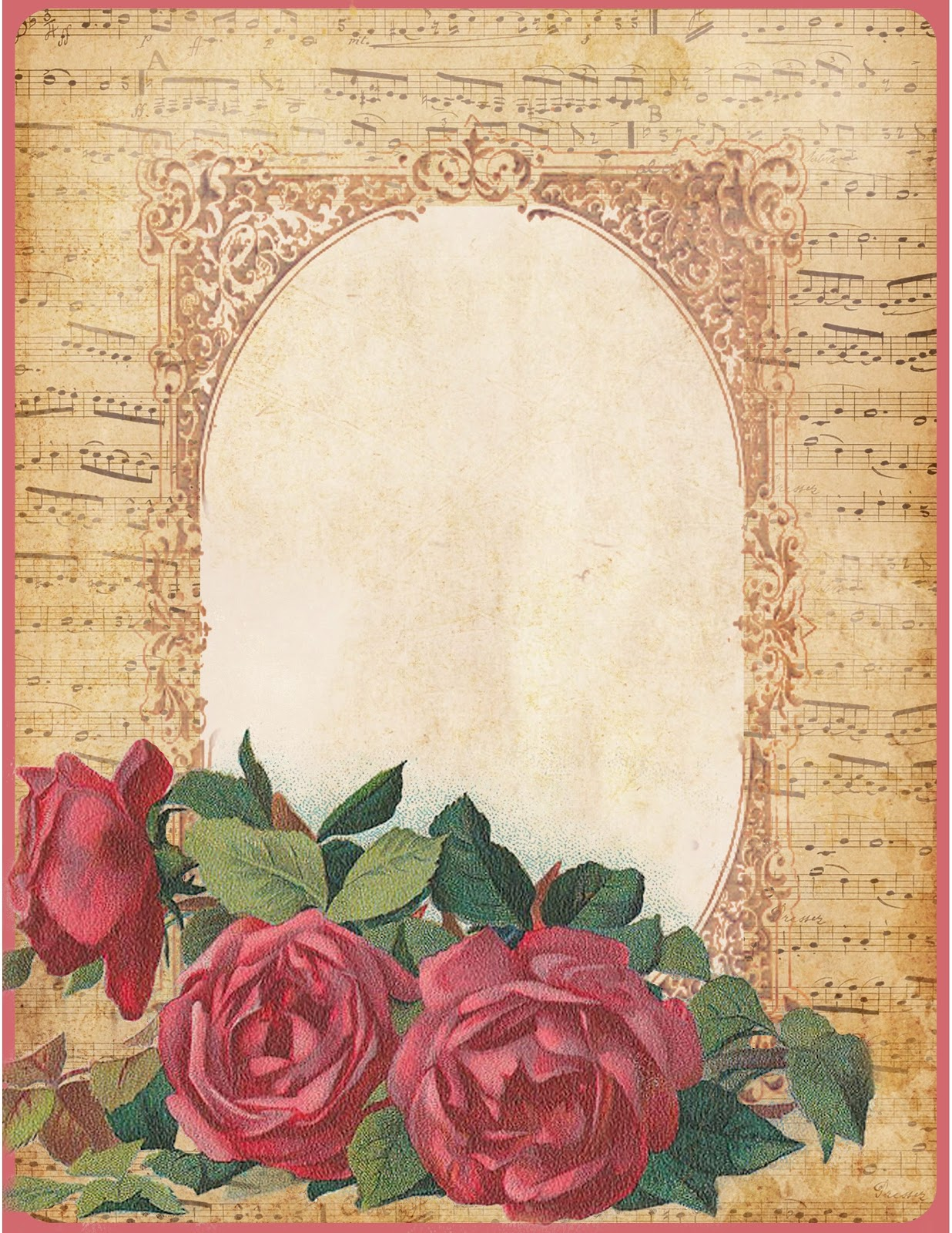 Lilac lavender those old fashioned roses for Paper roses sheet music free