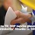 """Promjene na TK: SDP najviše glasova, Naša stranka """"preskočila"""" Stranku za BiH"""
