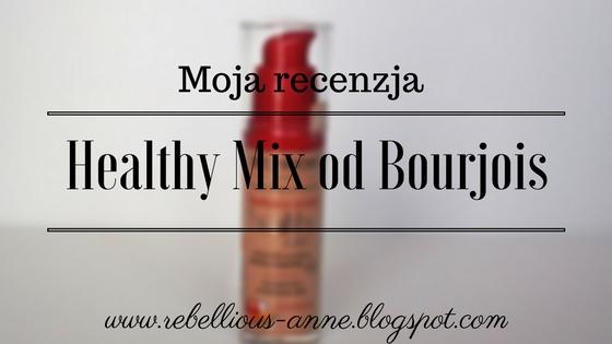 Moja recenzja - podkład Healthy Mix od Bourjois