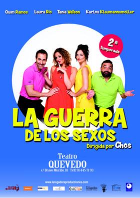 'La guerra de los sexos' en el Teatro Quevedo
