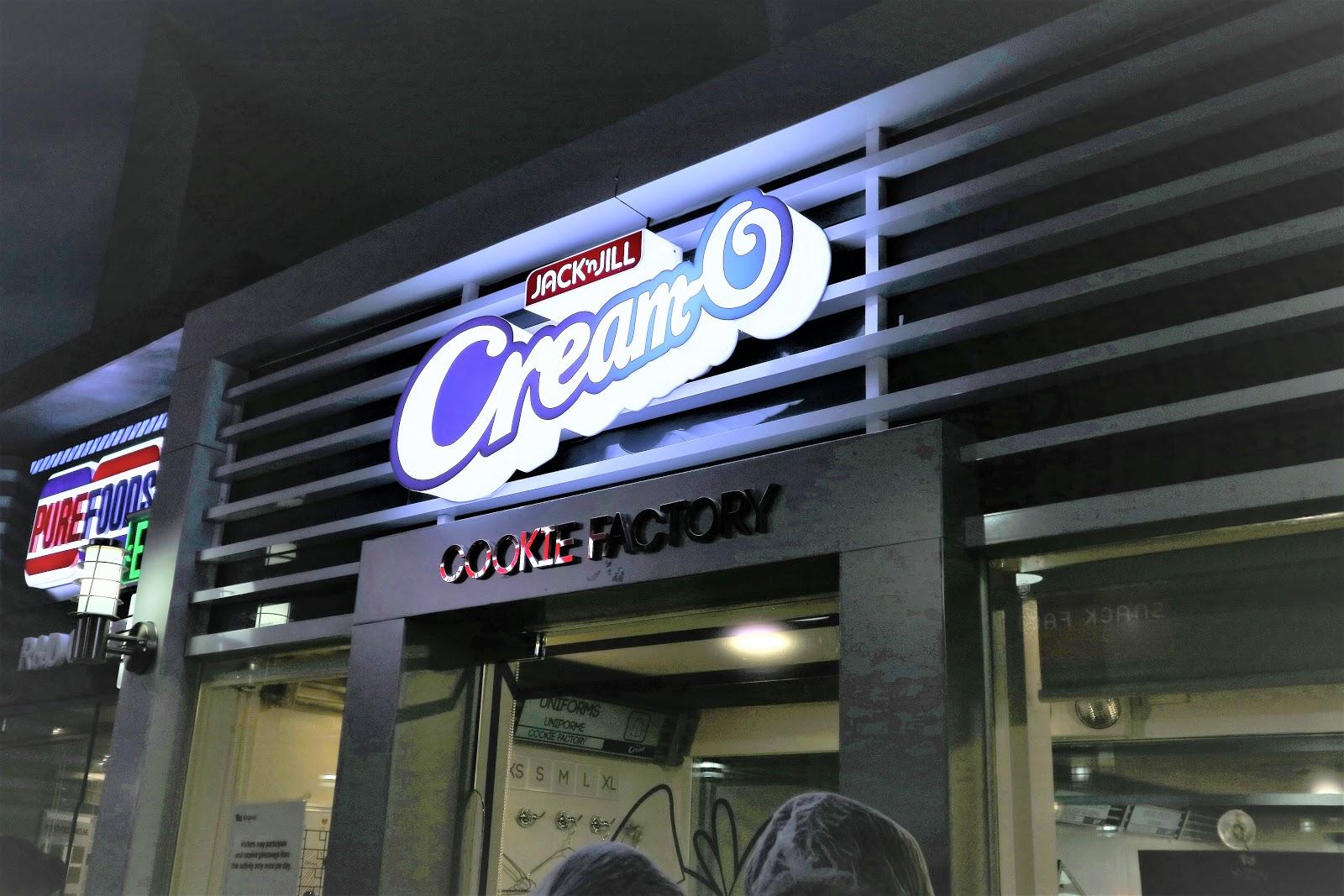 Jack 'n Jill Cream-O Cookie Factory