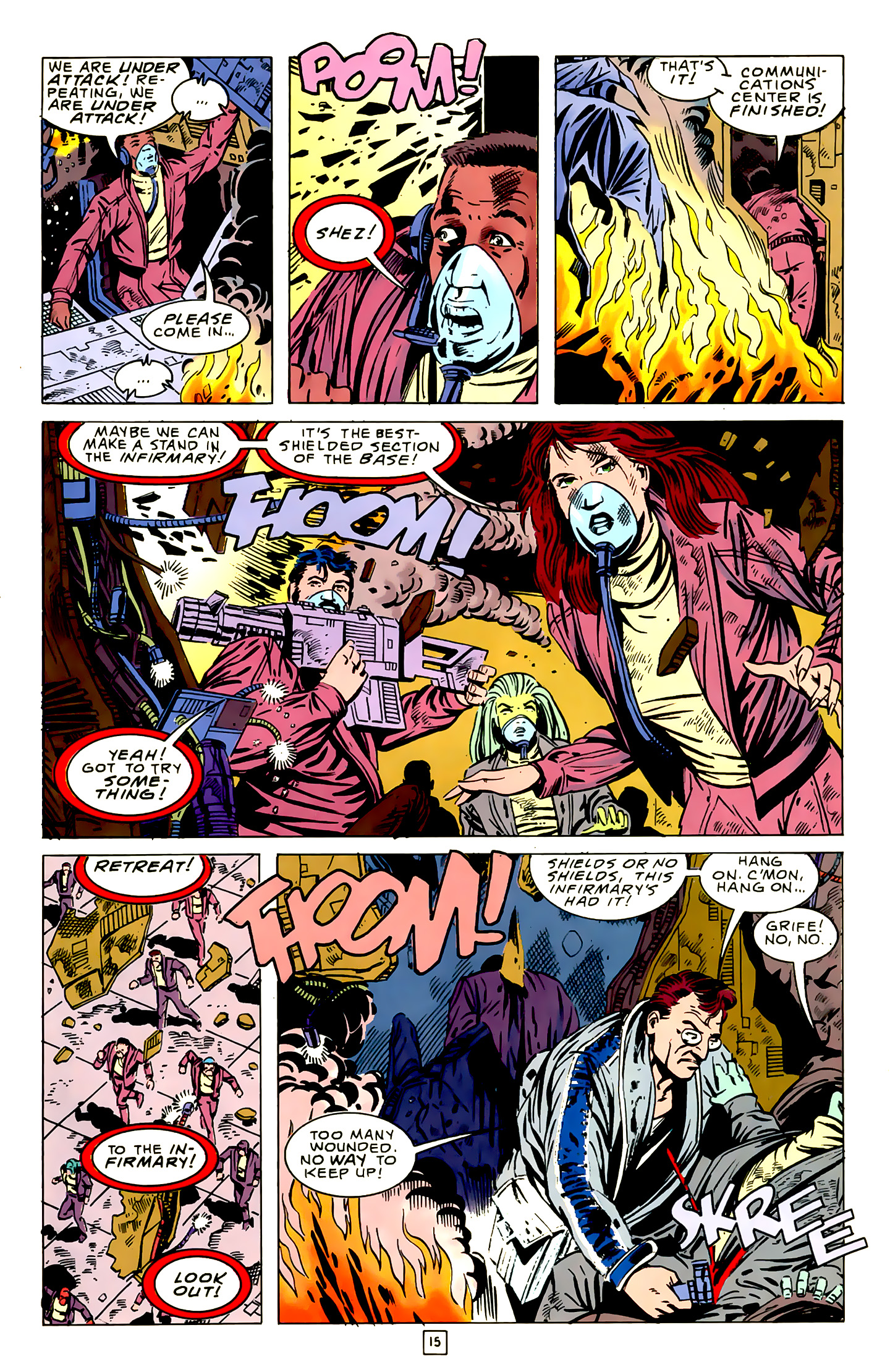 Legion of Super-Heroes (1989) 16 Page 15