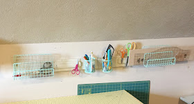 Cutting Table Sewing Organization