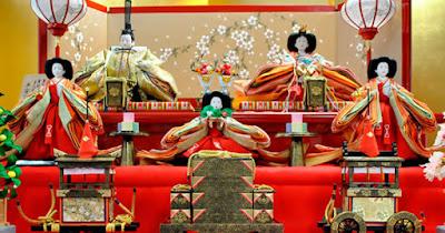 Hinamatsuri - Festival das Bonecas ou Dia das Meninas