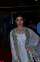 Samantha Ruth Prabhu cute in Lace Border Anarkali Dress with Koti at 64th Jio Filmfare Awards South ~  Exclusive 047.JPG