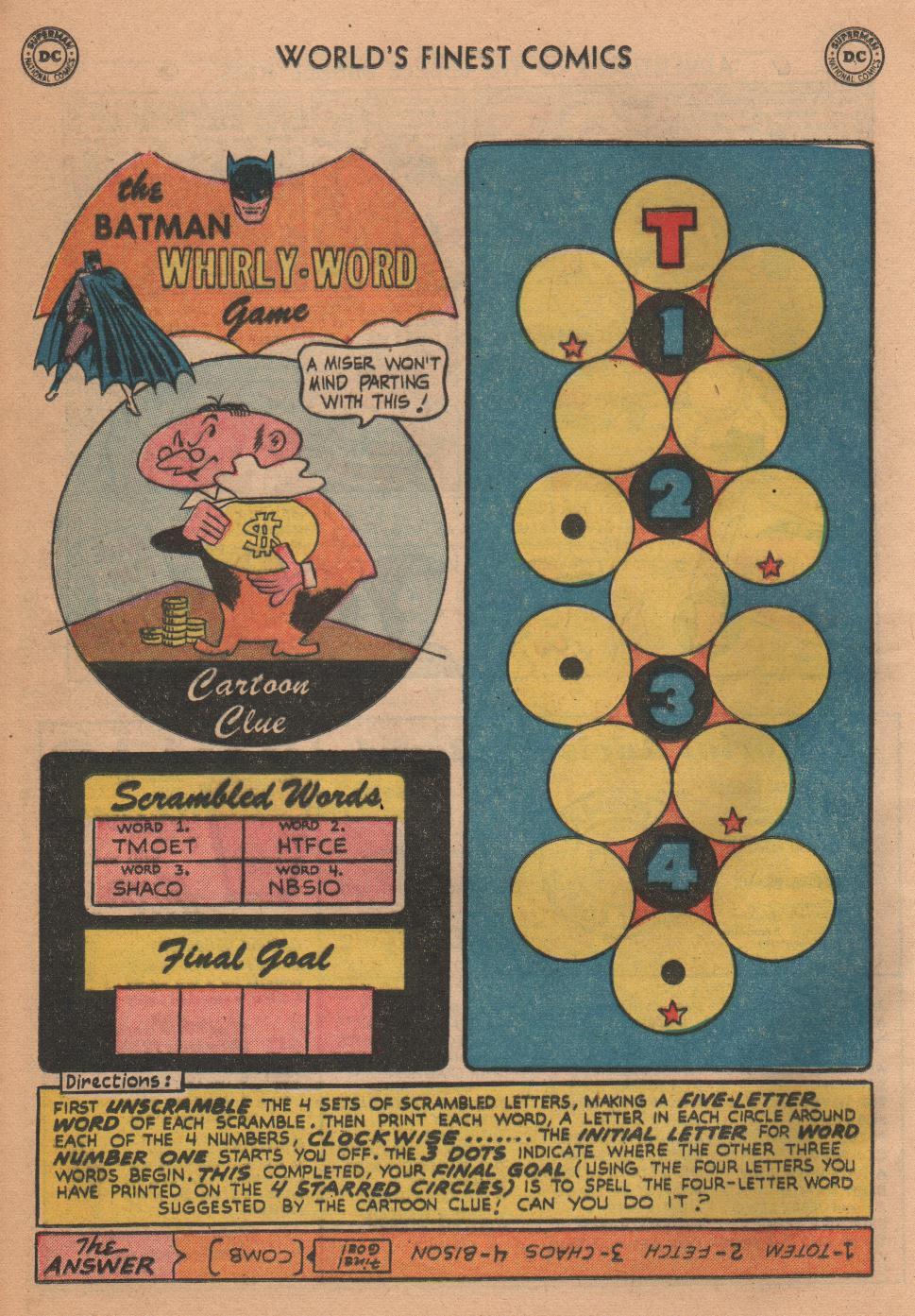 Read online World's Finest Comics comic -  Issue #72 - 24