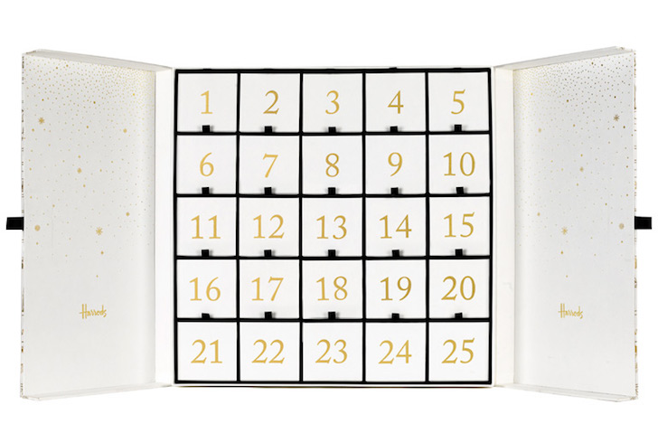 Full contents and spoilers of the Harrods Beauty Advent Calendar for Christmas 2017.